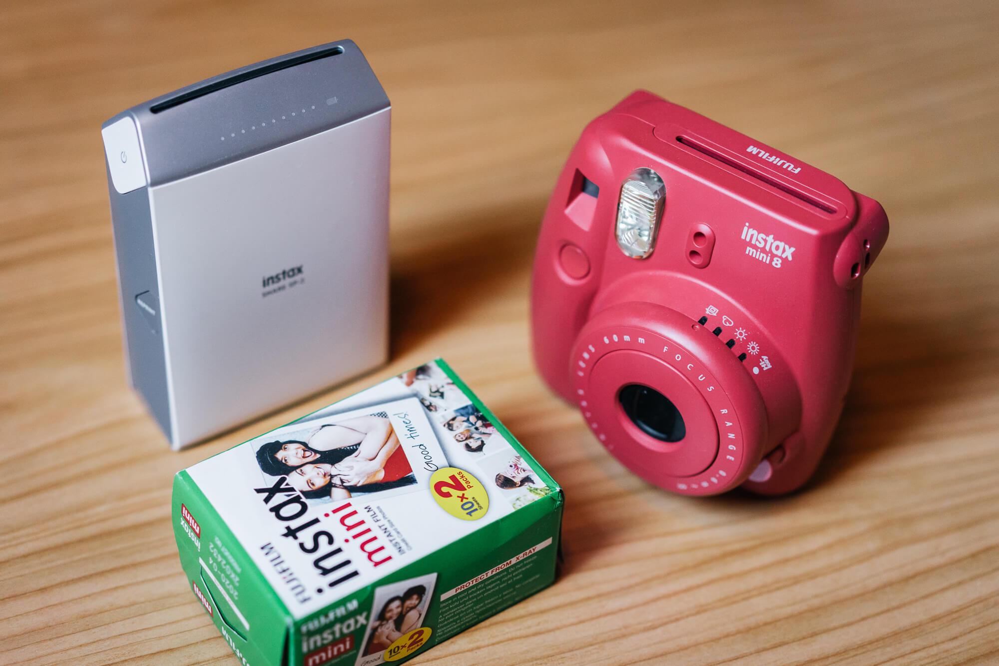 Instant filmes fényképezőgépek -Instax mini