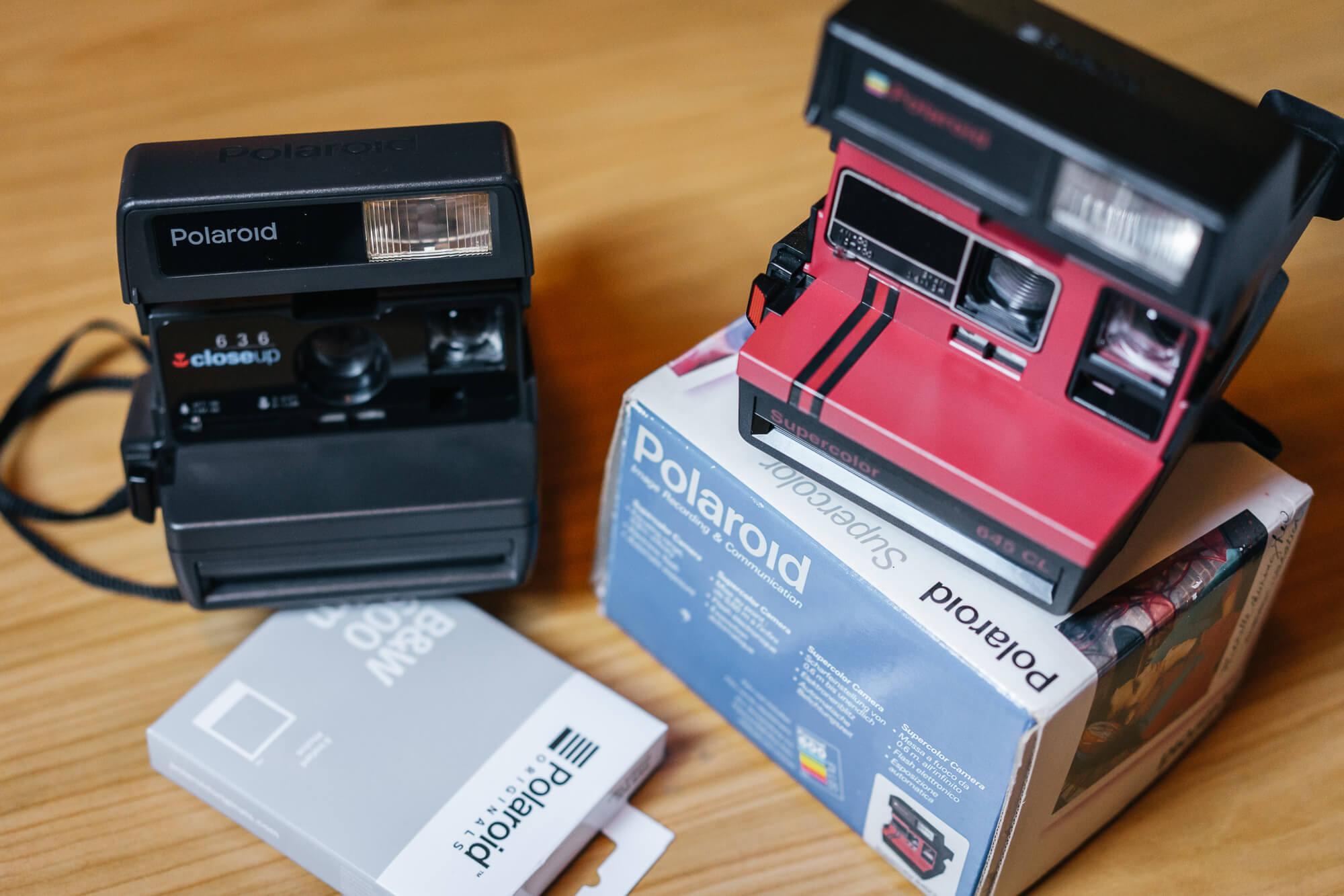 Instant filmes fényképezőgépek - Polaroid
