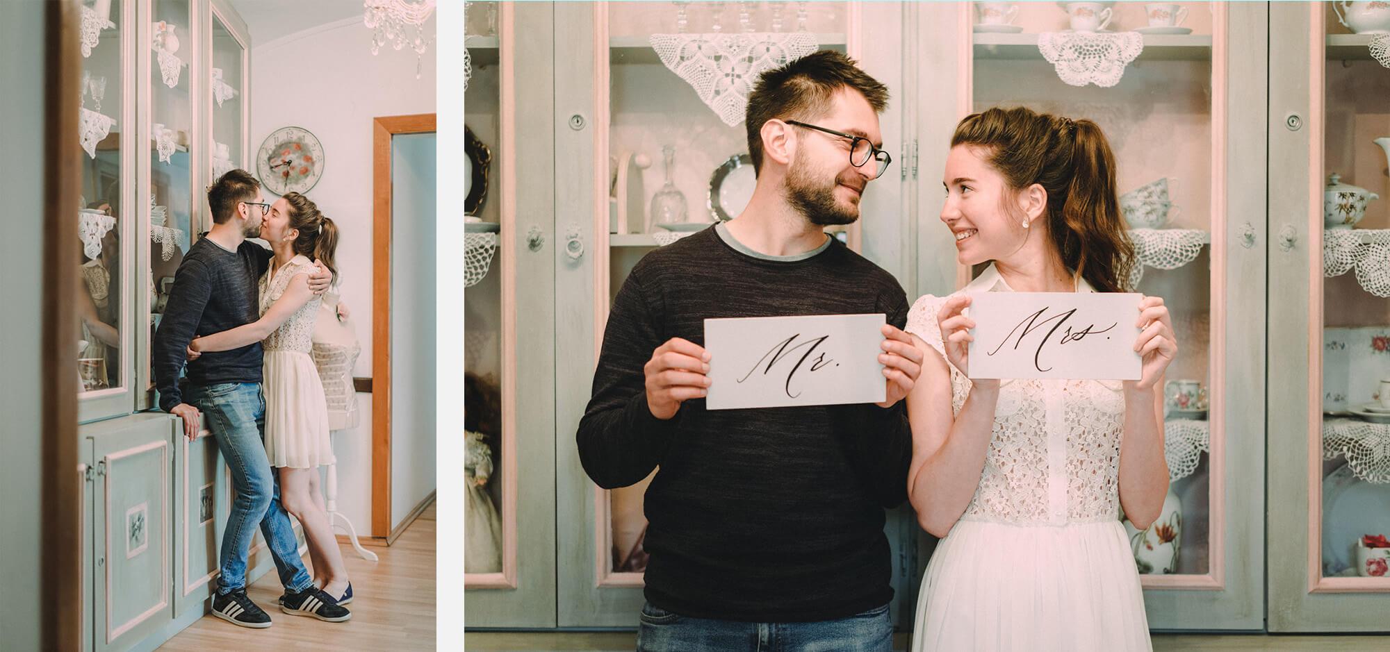 Dóri és Zalán jegyesfotózás Vasszécseny