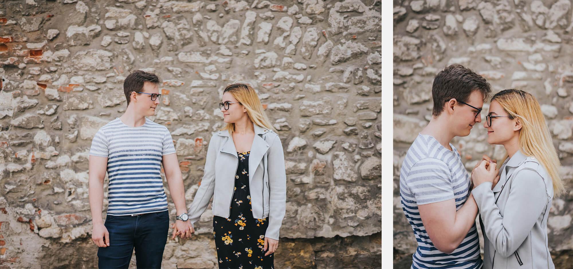 Fanny és Ricsi jegyesfotózás Sopron