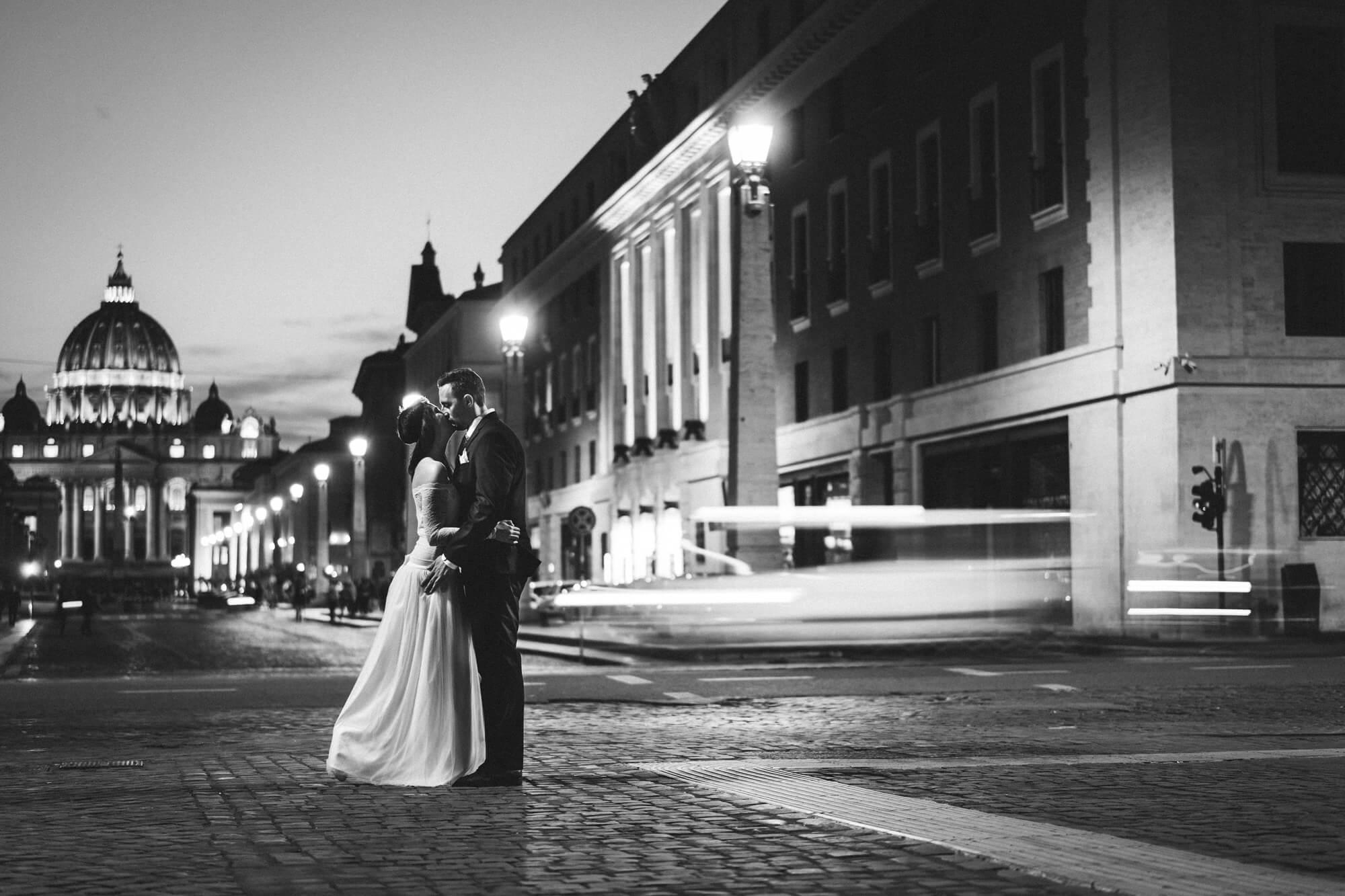Vivien és Balázs esküvő Róma