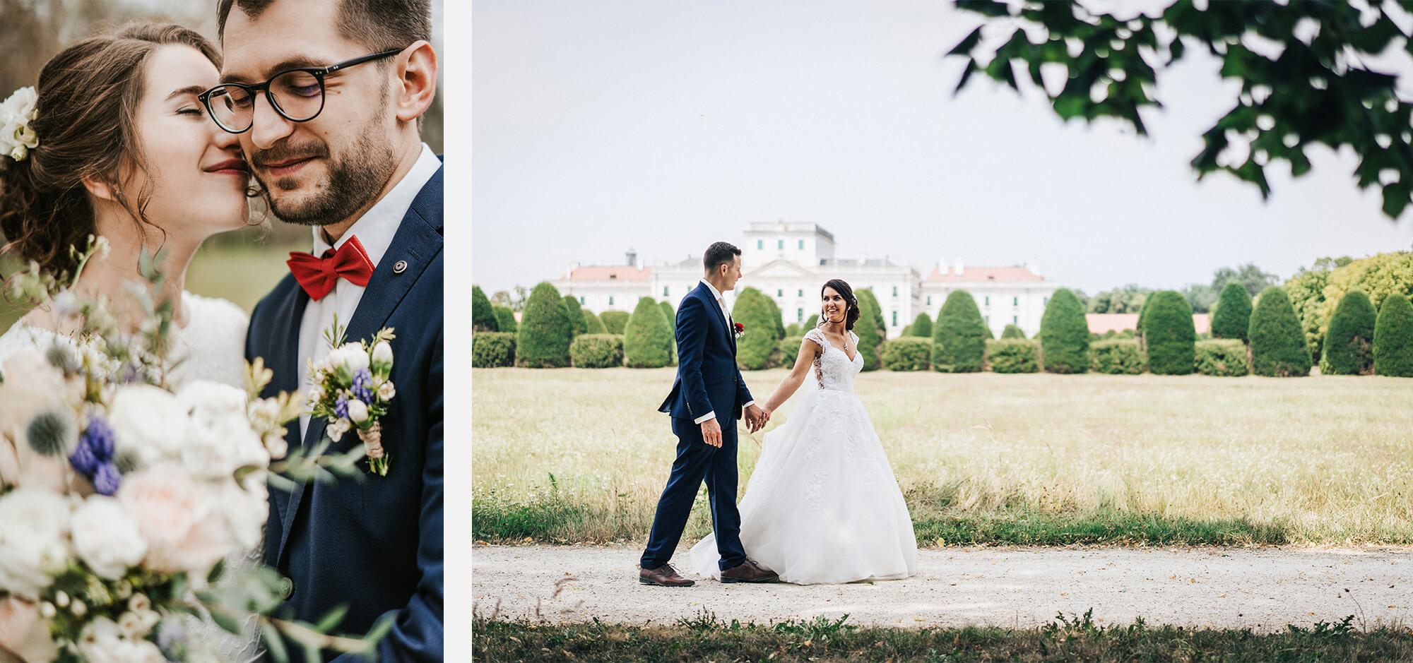 Kreatív fotózás az esküvő napján