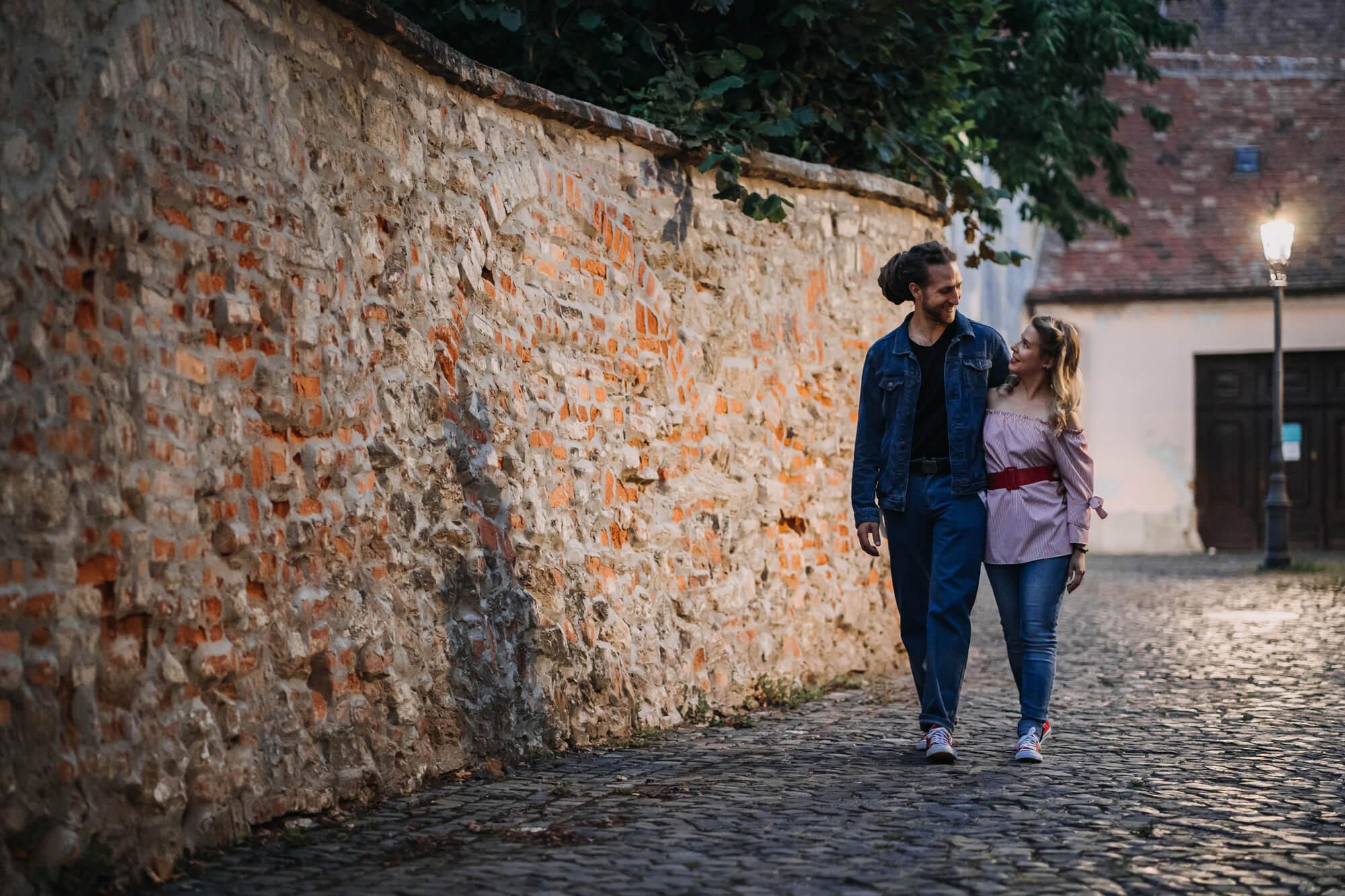 Petra és Márk jegyesfotózás Kőszeg